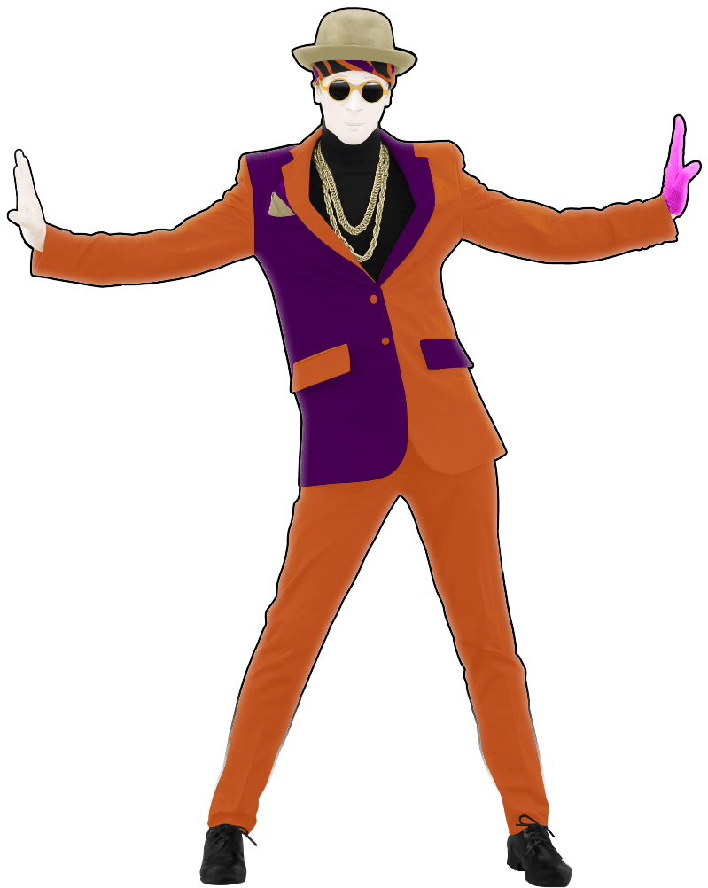 Just Dance Bruno Mars Clipart.
