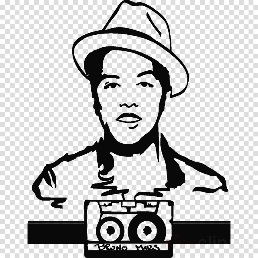 Download silueta bruno mars png clipart Bruno Mars 24K Magic World.