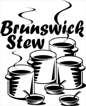 Brunswick stew clipart.
