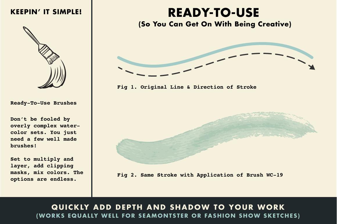 Photoshop and Illustrator Brushes.