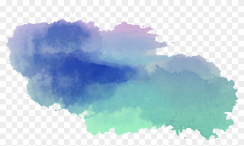 Paint Ikon Background Clouds Effect.