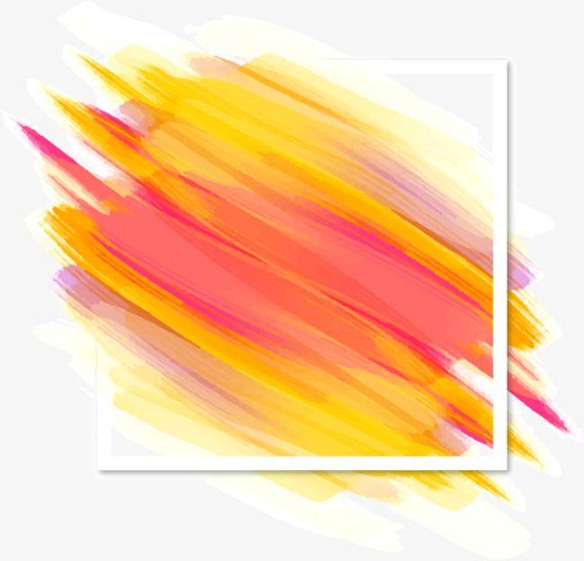 Vector Decorative Background Shading Color Brush Strokes, Shading.