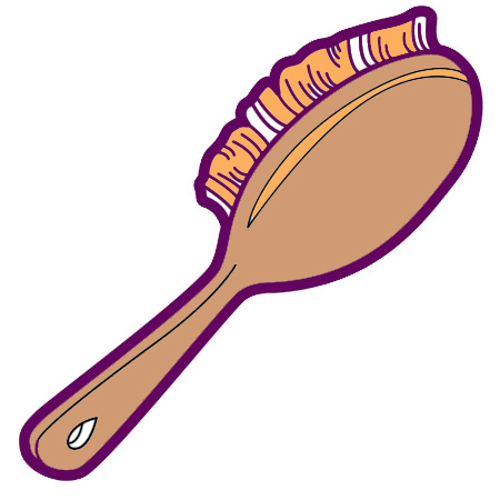 Brush Clip Art.