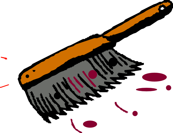 Clip art brush.