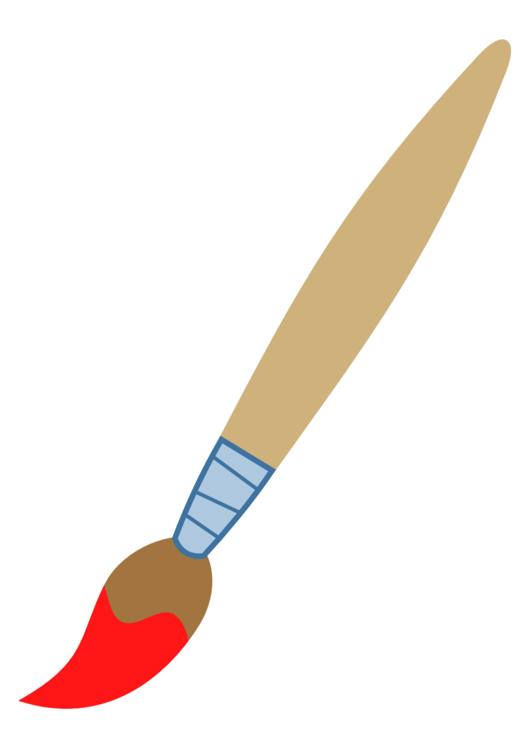 Paint Brush Clip Art Free.