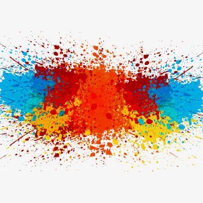 Creative Splashing, Color Splash, Ink Splash, Brush PNG Transparent.