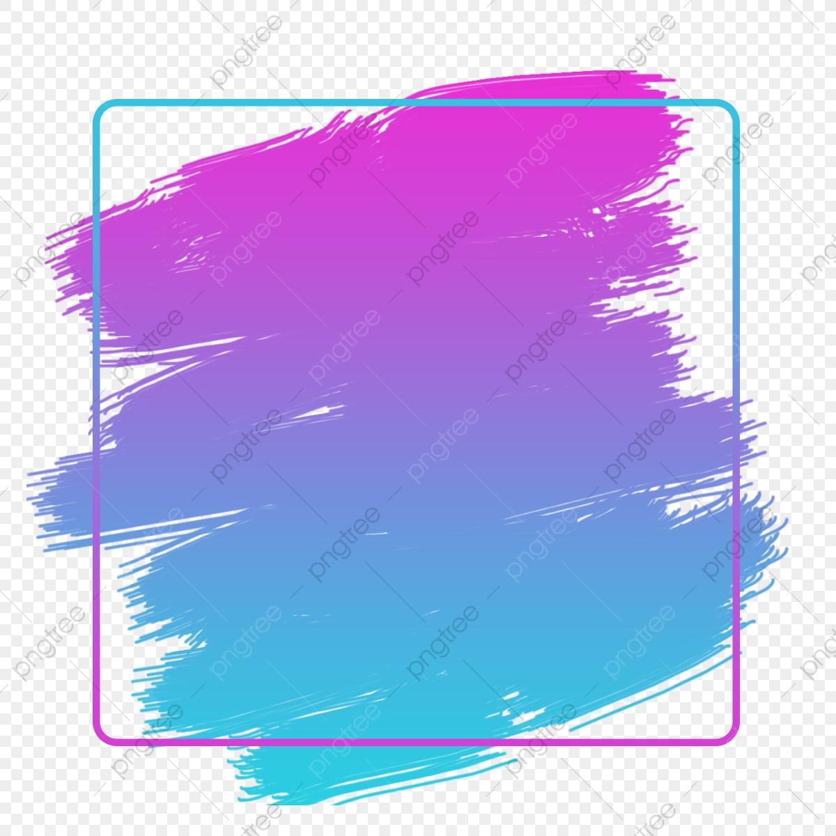 Paint Brush Color Effect, Color, Coloreffect, Gradienteffect PNG.