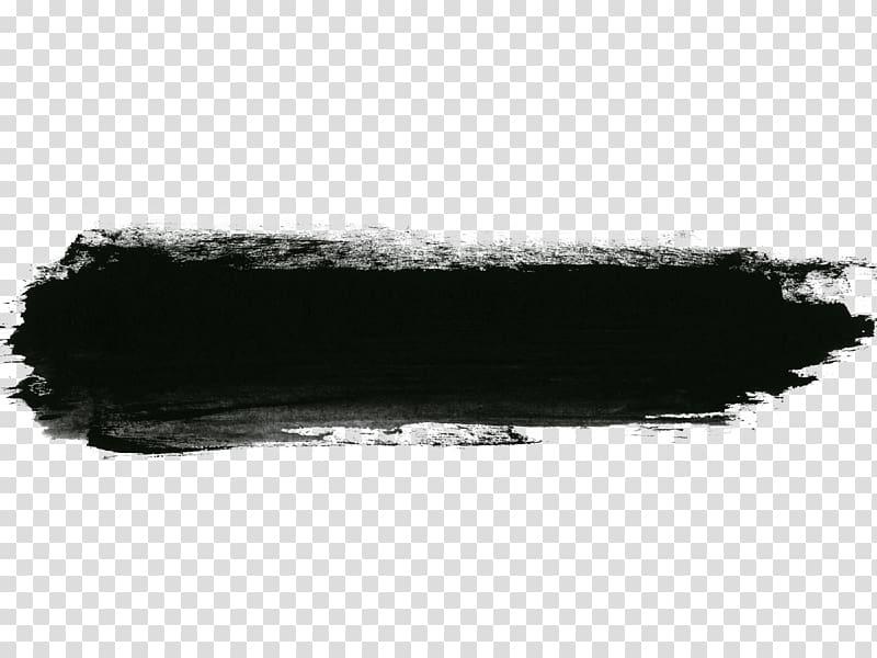 Black paint splash , Ink Red , Black Chinese wind brush pen.