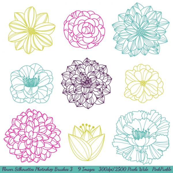 1000+ ideas about Flower Clipart on Pinterest.