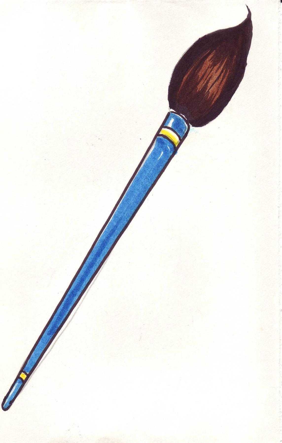 Paint Brush Clip Art Png