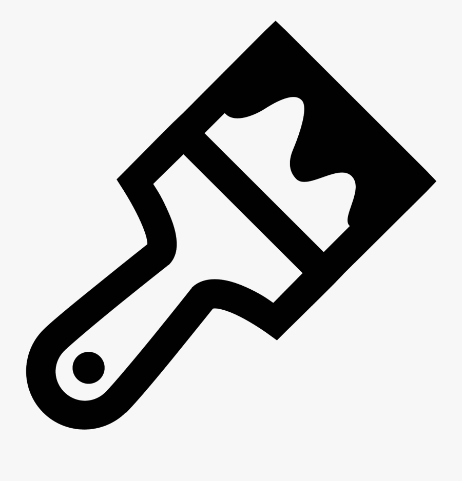 Paint Brush Icon Free.