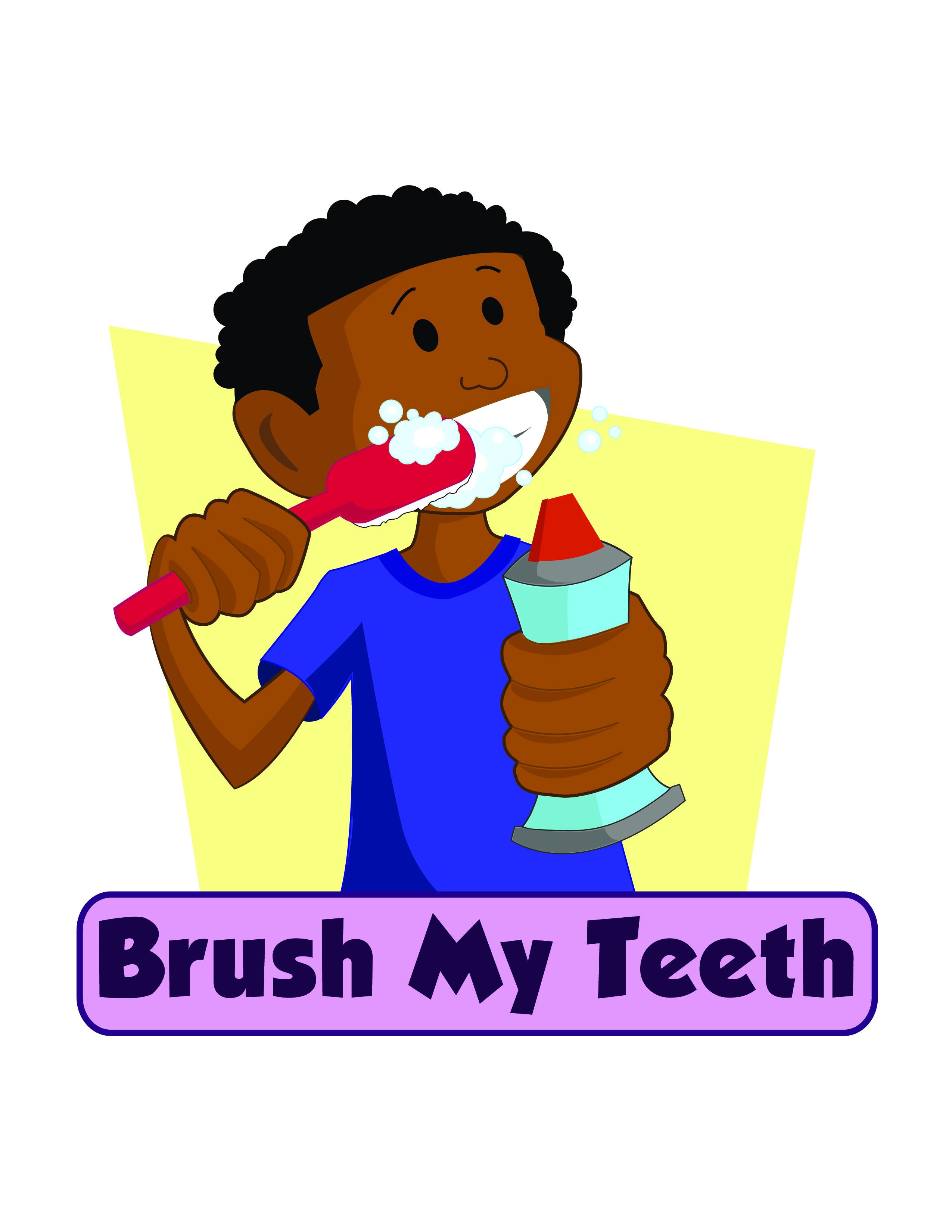 Brushing Teeth Clip Art N37 free image.