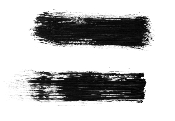 12 Free High Res Dry Brush Stroke Photoshop Brushes.