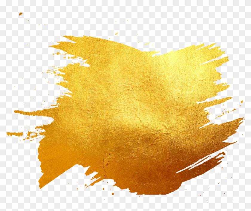 Golden Brush Png Images.