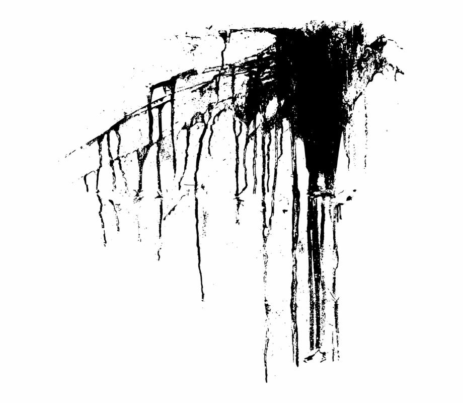 Brush Vector Grunge Paint Ink Shape Paintbrush Black.