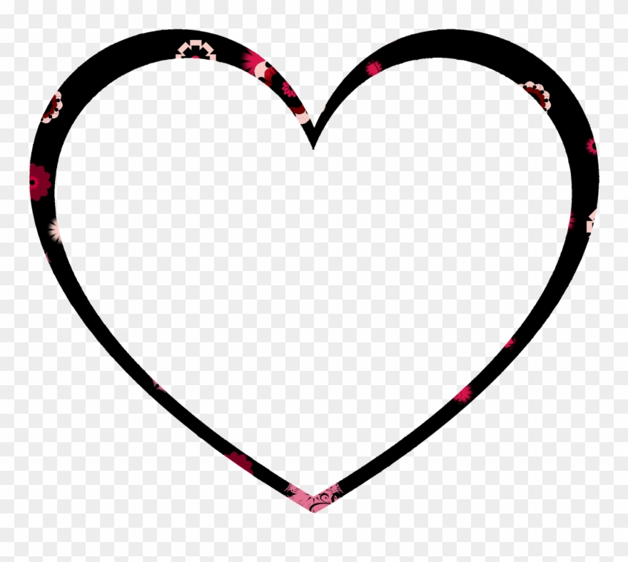 The Shape Is An Open Heart Brush I Designed.