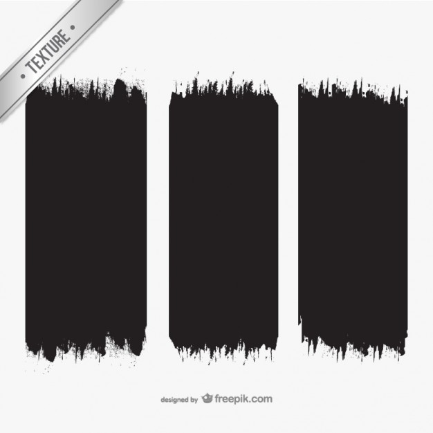 Brush Strokes Texture Free Vector.
