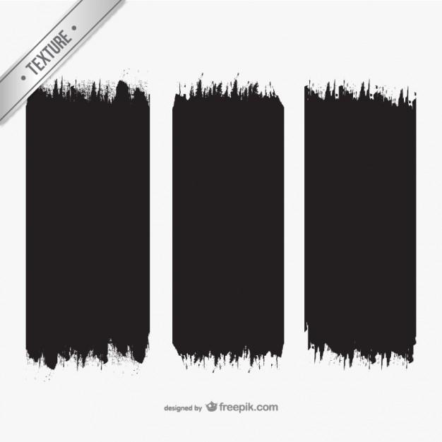 Brush Strokes Texture Free Vector.