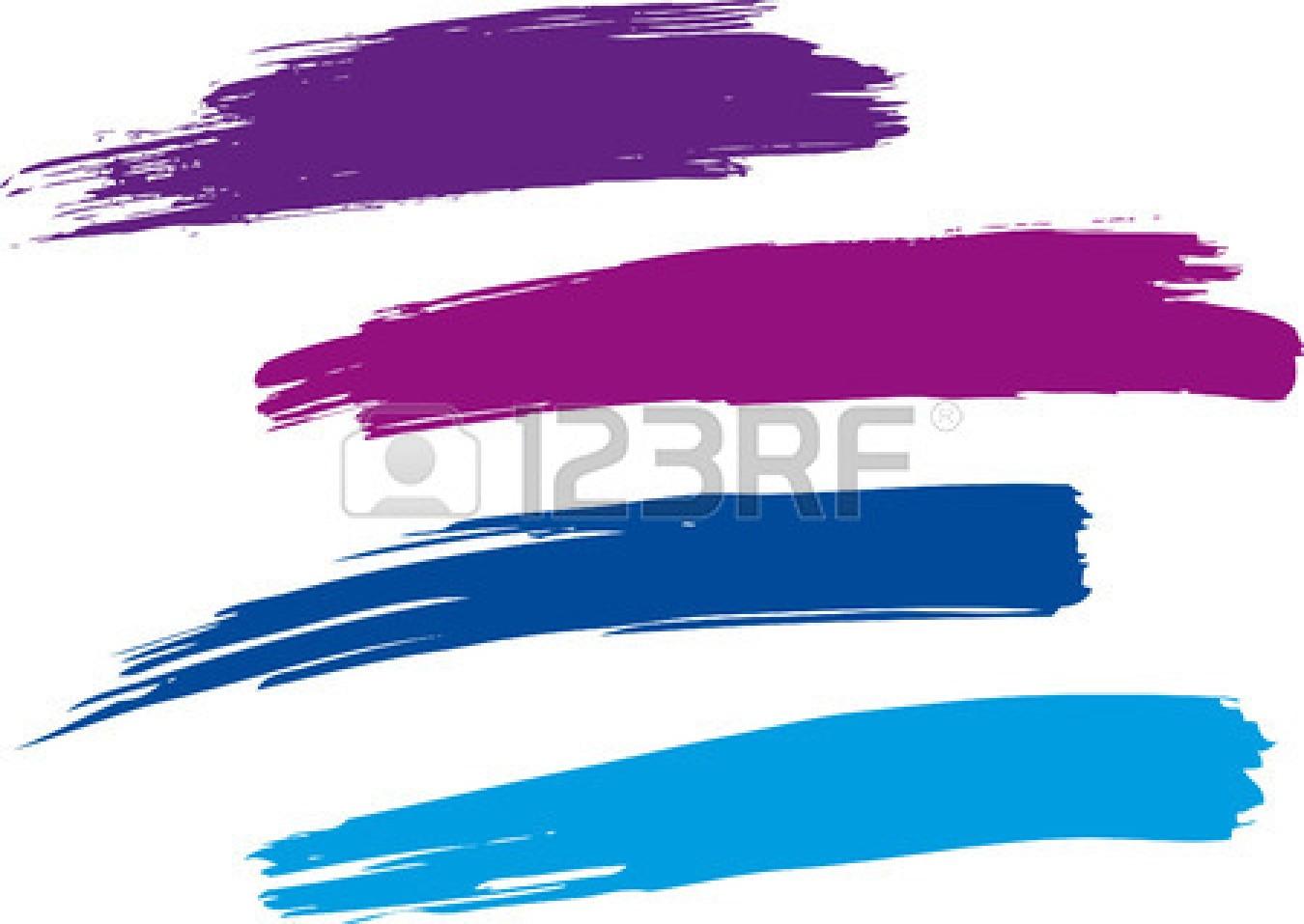 Paint Brush Stroke Clipart.