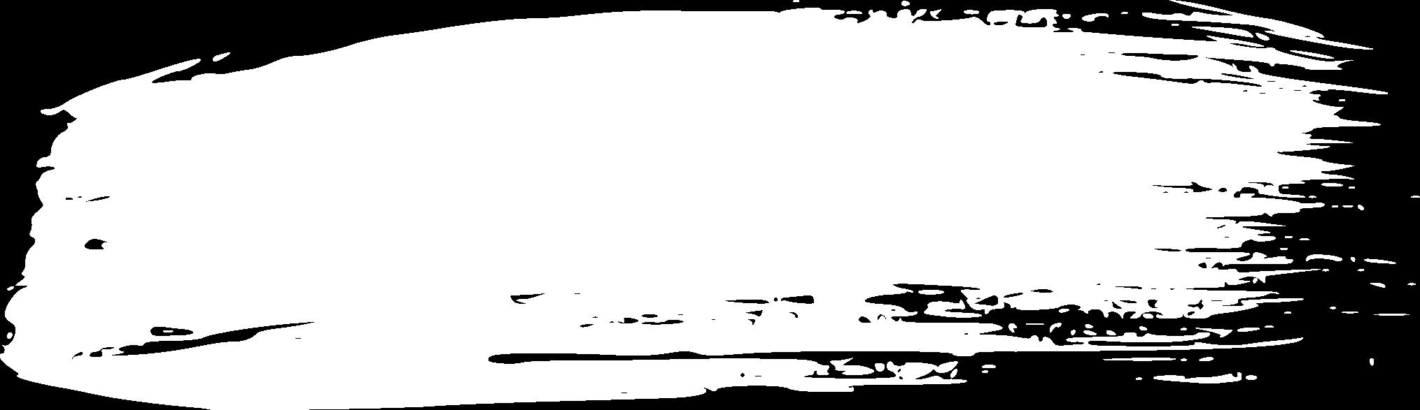 14 White Grunge Brush Stroke (PNG Transparent).