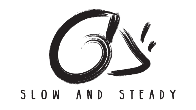 Create a minimalist brush stroke logo by Thegasplanet.