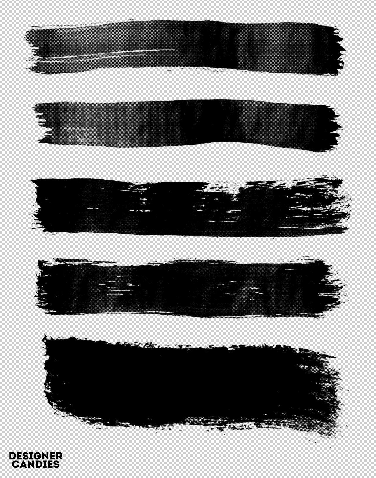 Free Photoshop Brush Strokes Pack.