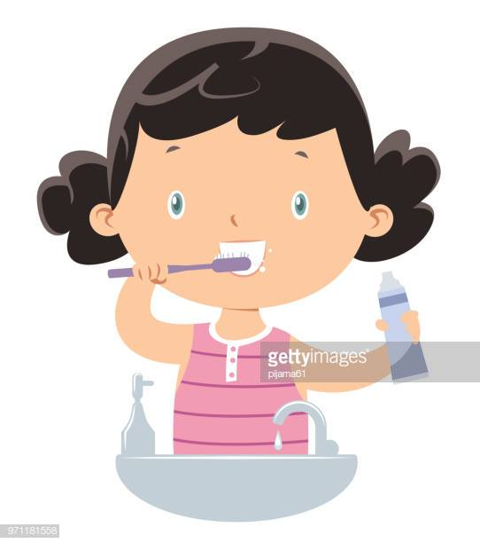 60 Top Brushing Teeth Stock Illustrations, Clip art, Cartoons.