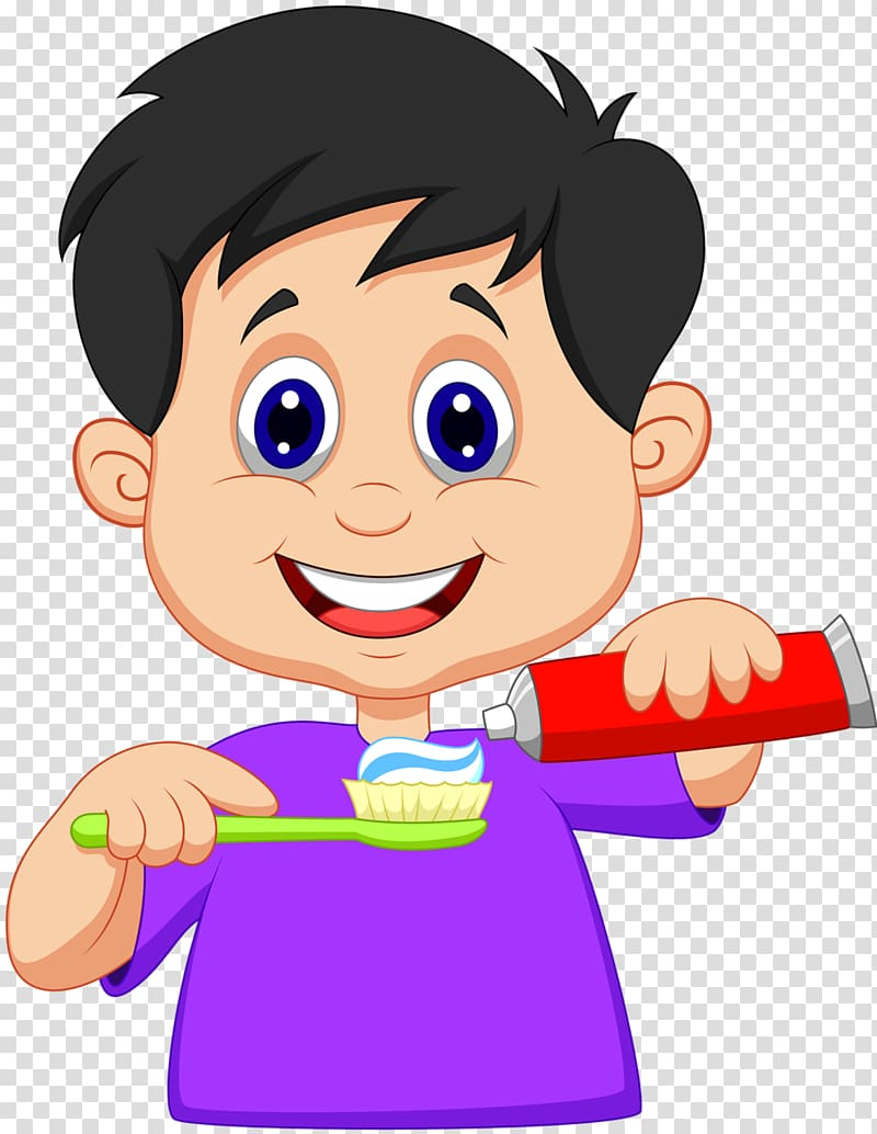 Tooth brushing , brush your teeth cartoon transparent.
