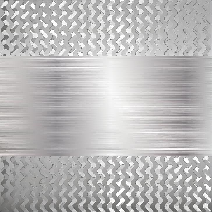 Brushed metal Polishing, Science fiction metal stripe PNG.