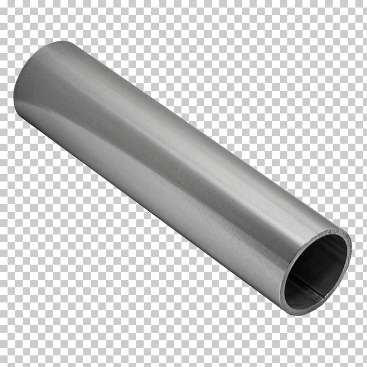 Pipe Brushed metal Stainless steel Tube, railings PNG.