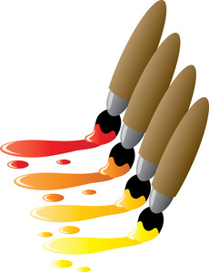 Brushes Clipart.
