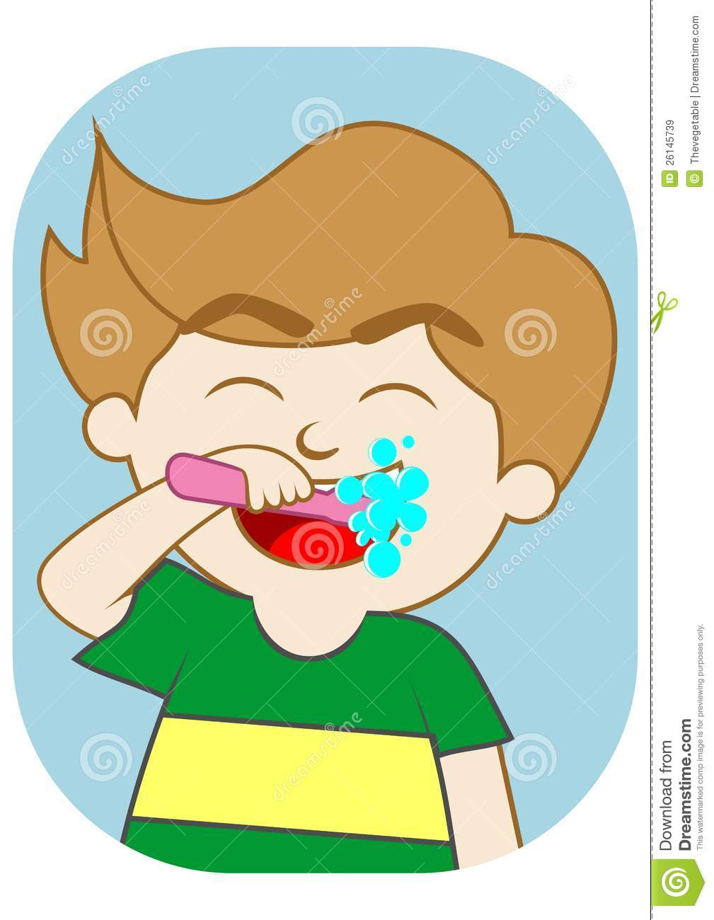 Brush Your Teeth Clipart.