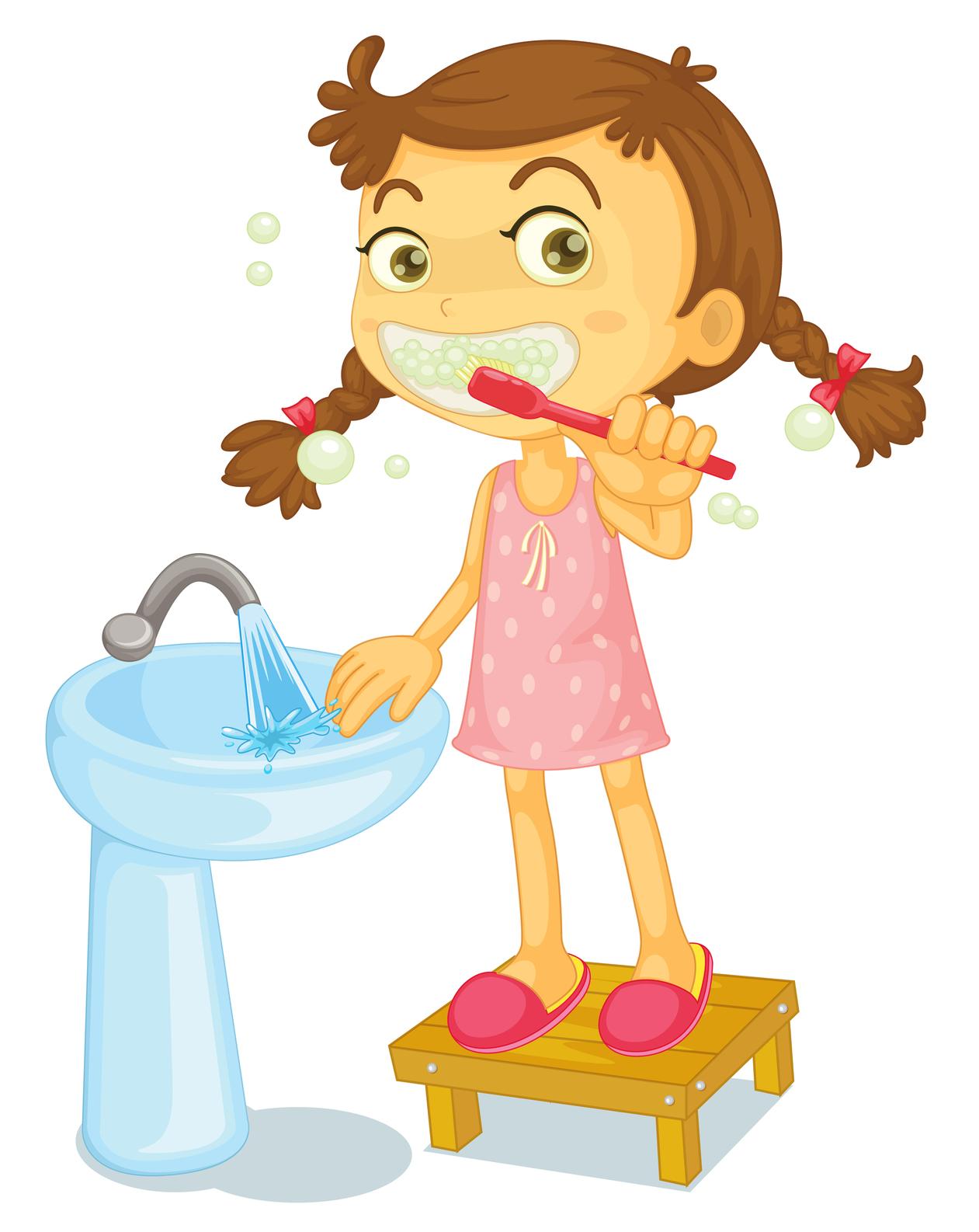 Brush my teeth clipart.