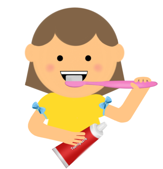 Tooth Brushing Clipart Free.