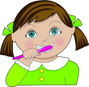Free Brush Teeth Clipart Pictures.