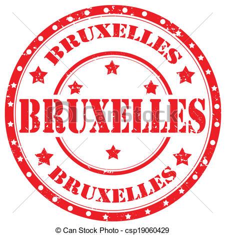 Vector Illustration of Brussels.