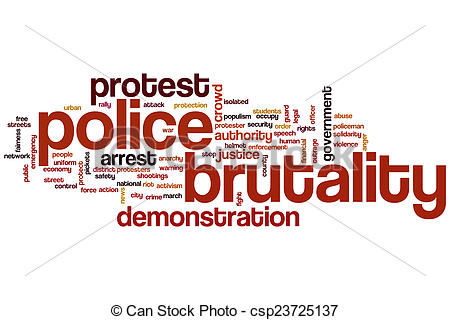Stock Photos of Police brutality word cloud concept csp23725137.