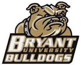 Bryant Bulldogs logo machine embroidery design. Machine.