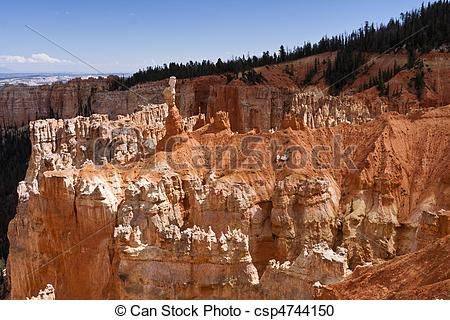 Stock Photography of Agua Canyon at Bryce Canyon.