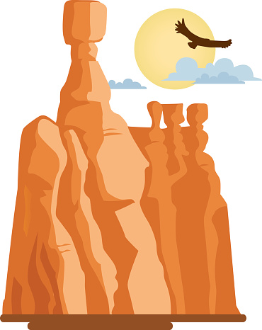 Bryce canyon clipart.