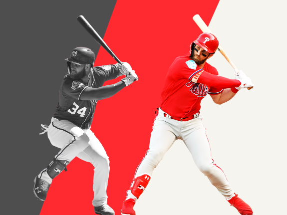 Why Is Bryce Harper\'s Old Team Ahead Of Bryce Harper\'s New.