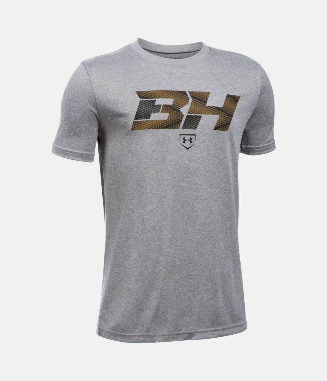 Boys\' Bryce Harper BH34 Logo T.