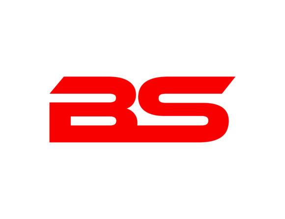 Bs letter logo.