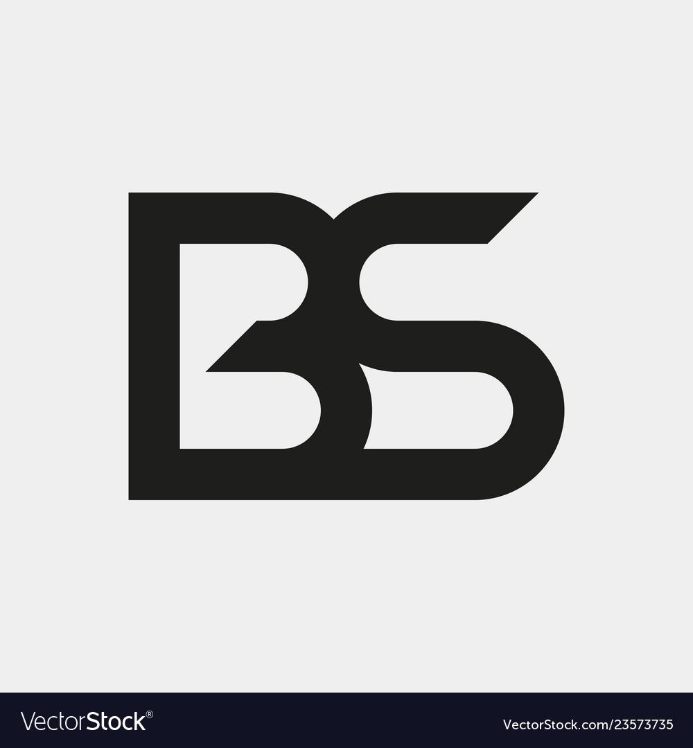 Bs logo monogram.