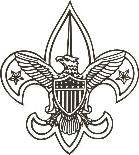 Clip Art Boy Scout Emblem Clipart.