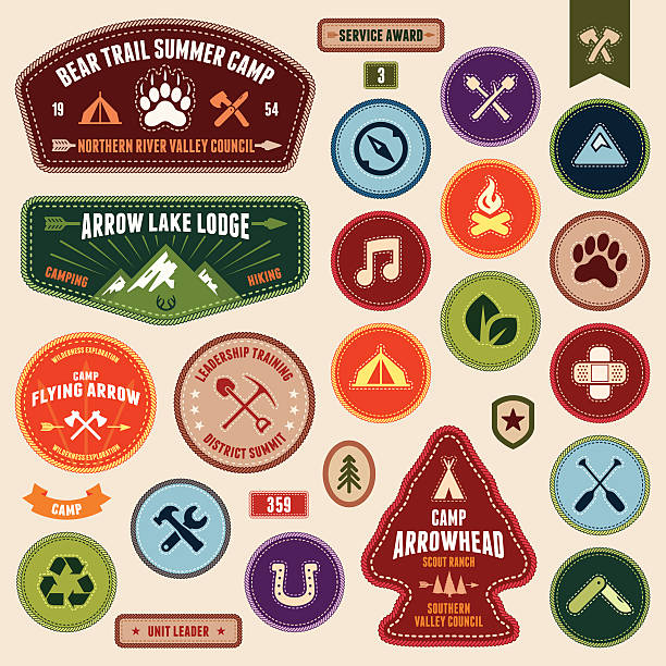 Best Boy Scout Illustrations, Royalty.