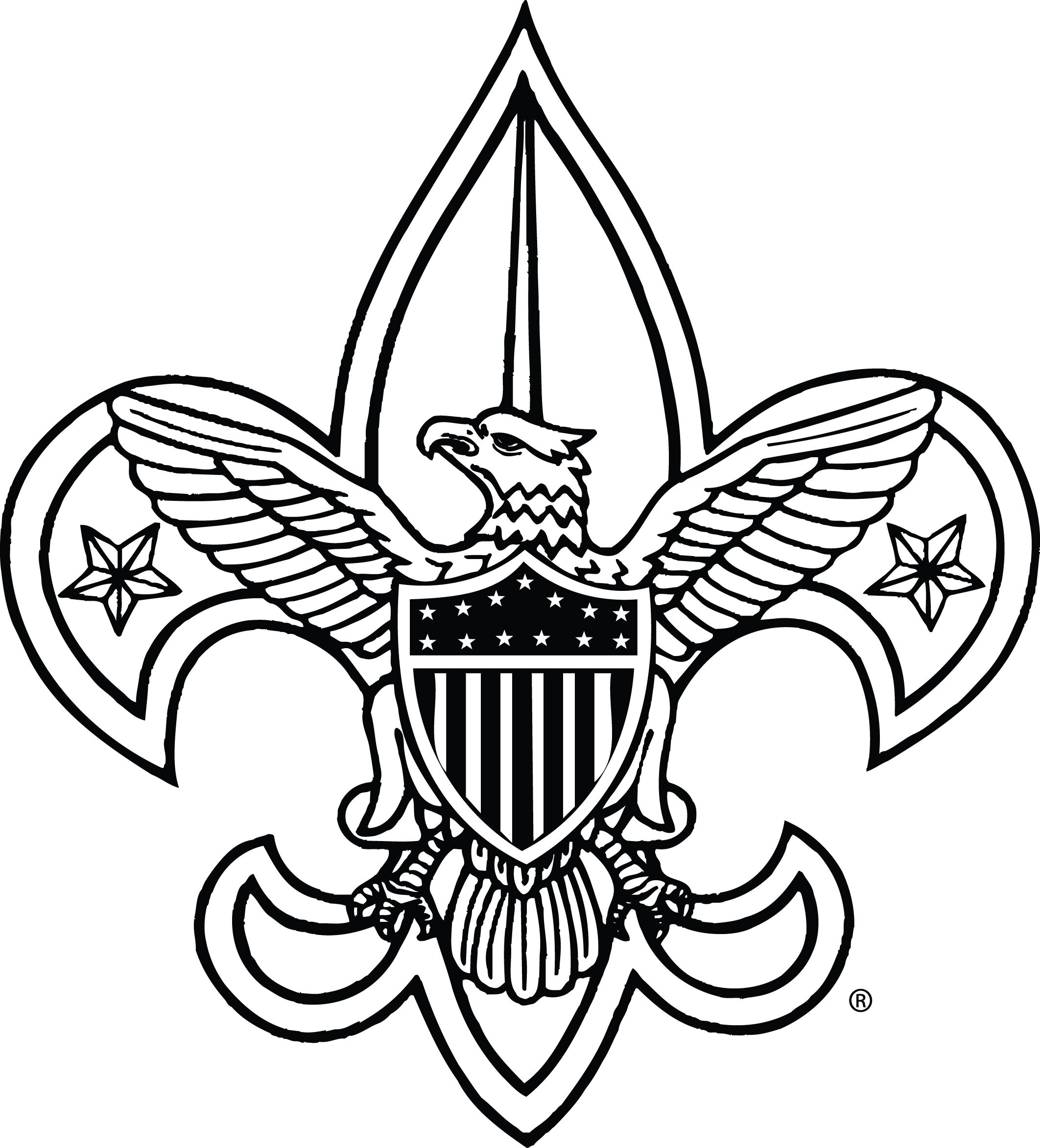 Boy Scout Symbol Clipart.