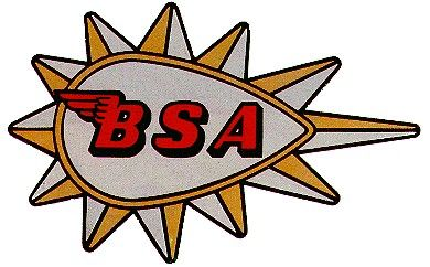 BSA Motorcycle Logo.