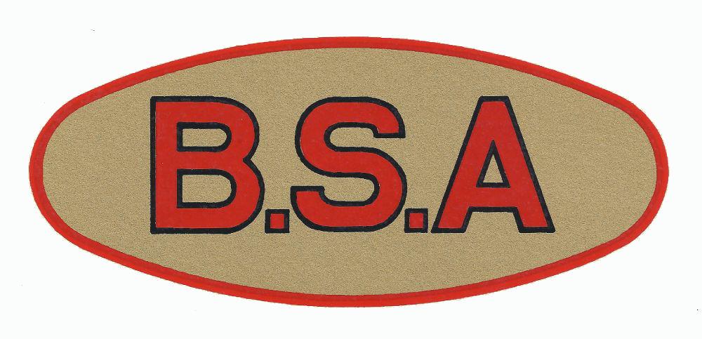 BSA Motorcycle Logos.