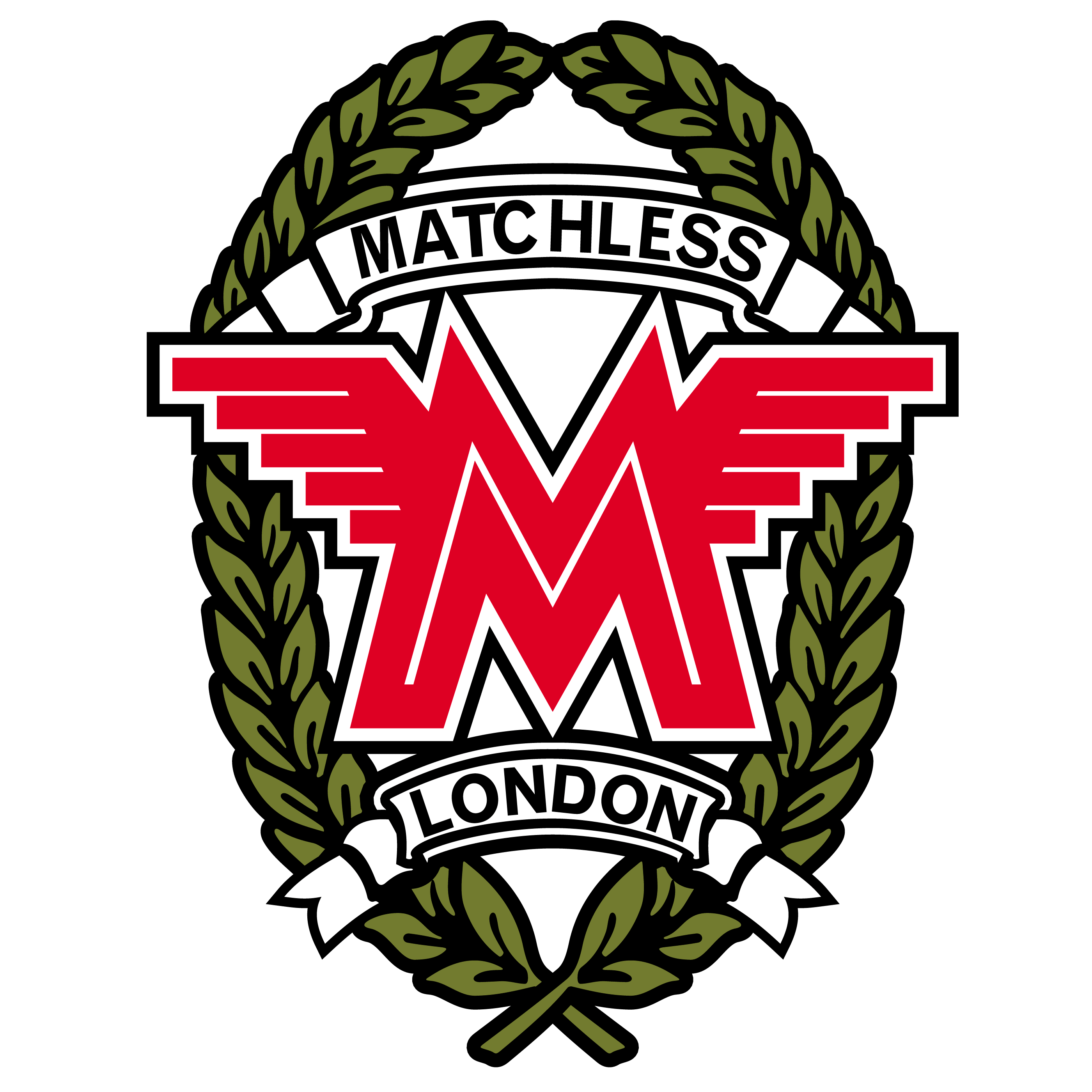 Matchless Motorcycle Logo.